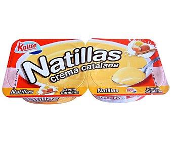 Kalise Crema Catalana 2 unidades de 135 gramos