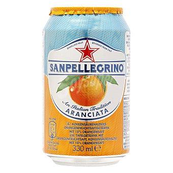 San Pellegrino Bebida italiana Aranciata de naranja 33 cl