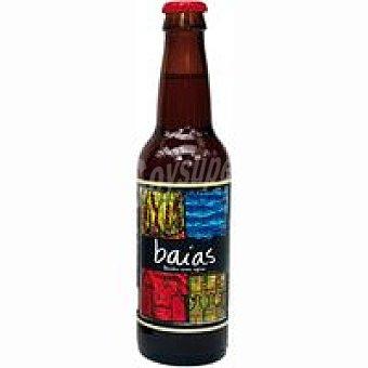 BAIAS Cerveza artesana ambar Botellín 33 cl