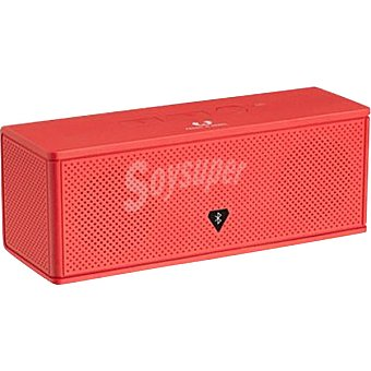 FRESH&REBEL Altavoz Rockbox Brick en color coral 1 Unidad