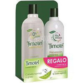 Timotei Champú fresco puro Bote 400 ml + Champú