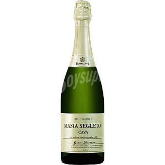 Rovellats Masía Segle XV cava brut natura gran reserva botella 75 cl botella 75 cl