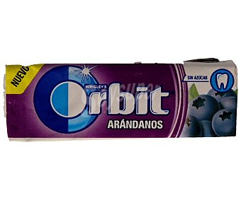 Orbit Chicles con sabor a arándanos 14 gramos