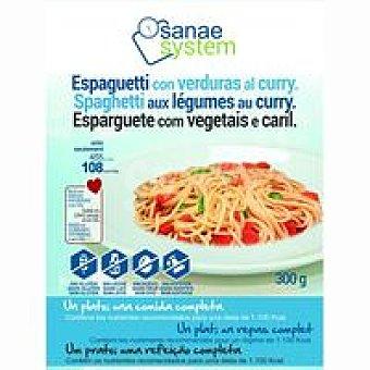 Sanae Espaghetti con verduras-curry bandeja 300 g