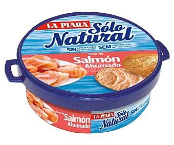 La Piara Sólo Natural Paté de Salmón Ahumado 2 latas de 77 g