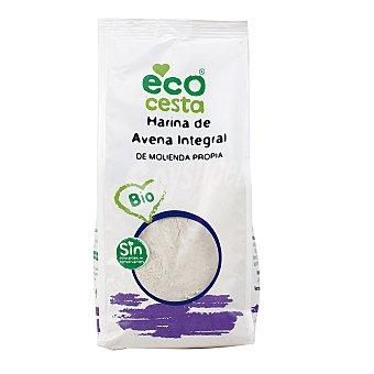 Ecocesta Harina de avena integral de cultivo ecológico Bolsa 500 g
