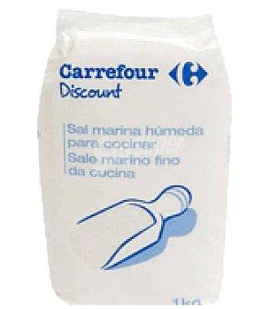 Carrefour Discount Sal marina húmeda 1 kg