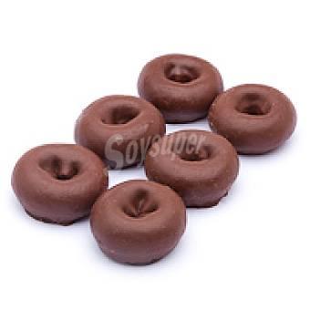 Eroski Rosquilla de cacao Bandeja 10 uds