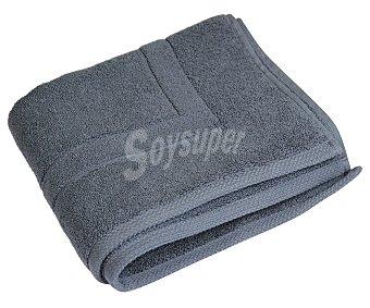 Actuel Alfombra tejido rizo color gris oscuro para baño, densidad de 1100 g/m², 50x80 centímetros 1 unidad