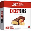 Energy Bars barritas de plátano, albaricoque y chocolate para jóvenes deportistas 3x25g Envase 75 g Just Loading