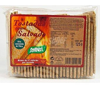 Santiveri Tostadas con salvado - Sin Gluten 125 g