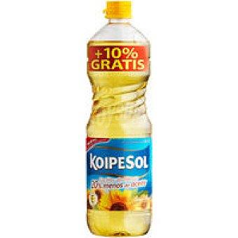 KOIPESOL Aceite de girasol botella 1 litro + 10%