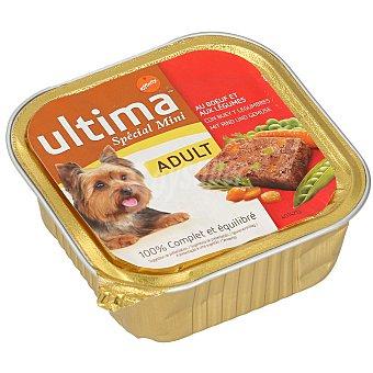 Ultima Affinity Alimento para perros mini con buey y legumbres Tarrina 150 gr