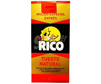 Rico Café molido natural expres Paquete 250 g