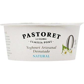 El Pastoret Yogur natural desnatado Envase 125 g