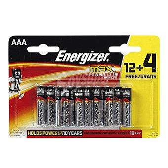Energizer Pila alcalina AAA Blíster 16 u