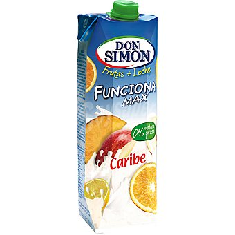 DON SIMON FUNCIONA MAX Caribe Fruta + leche envase 1
