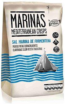 Vicente Vidal Vidal patatas fritas marinas Bolsa 150 gr