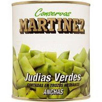 Martinez Judía verde ancha Lata 1 kg