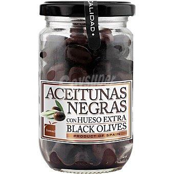 Ismael Aceitunas negras con hueso extra Frasco 180 g neto escurrido
