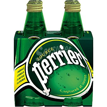 Perrier Nestlé Agua con gas Pack 4x33 cl