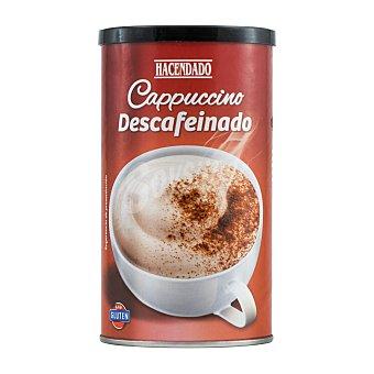 Hacendado Cafe soluble cappuccino descafeinado Bote 250 g