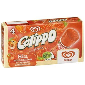Frigo Helado calippo fresa Caja 420 ml