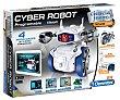 Robot programable Cyber Robot, 4 modos de juego, cámara y efectos de sonido technologic clementoni  Clementoni