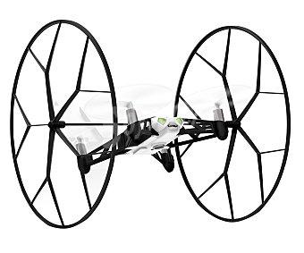 PARROT ROLLING SPIDER Mini Drones Blanco, ruedas desmontables, uso interior y exterior, permite hacer flips, alcance de 20m, cámara fotográfica, pilotaje mediante smartphone o tablet, 8 minutos de autonomía, conexión Bluetooth. 1 Unidad