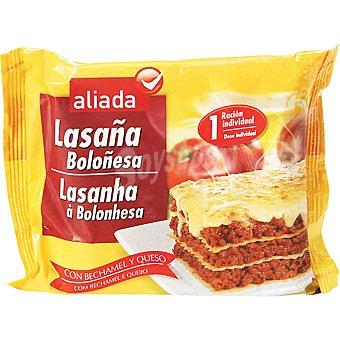Aliada Lasaña boloñesa con bechamel y queso Estuche 300 g