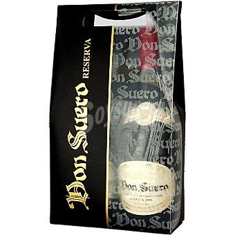 Don Suero Vino tinto reserva de Castilla y León estuche plástico 2 botella 75 cl 75 cl