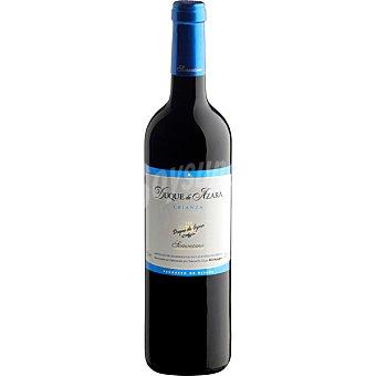 DUQUE DE AZARA Vino tinto crianza D.O. Somontano elaborado para grupo El Corte Inglés Botella 75 cl