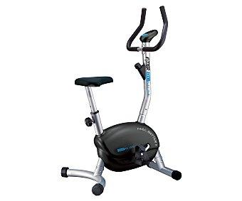 FYTTER Bicicleta estática modelo Racer Basic RA-00B con rueda de inercia de 2 kg, 6 funciones y sillín regulable en 6 alturas 1 unidad