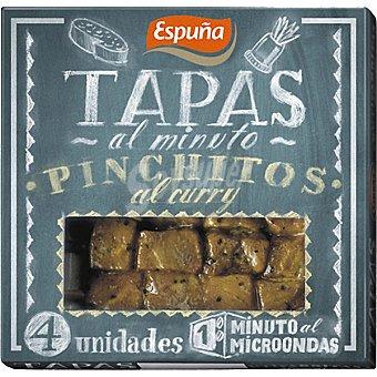 Espuña Pinchitos al curry Envase 80 g (4 unidades)