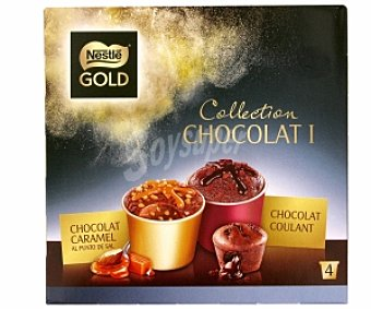 Nestlé Minicups gold caramel & coulant 4x100ml