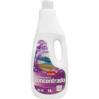 Aliada Detergente máquina líquido concentrado botella 1 l 40 dosis