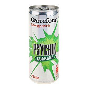 Carrefour Bebida energética con Guaraná Envase de 25 cl