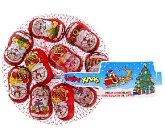 Productos Económicos Alcampo Figuras Papa Noel de chocolate 100 gramos