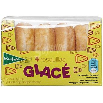 HIPERCOR Glacé Roscas glacé 4 unidades