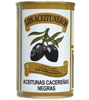 Los Aceituneros Aceitunas negras  Bote 180 g