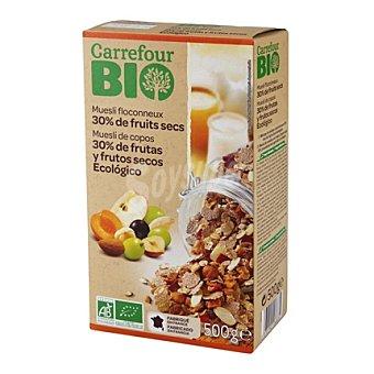 Carrefour Bio Muesli 30% frutas y frutos secos 500 g