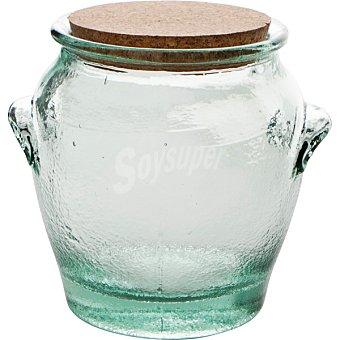 QUID Tasos Mielera de vidrio con tapón de corcho 1,25 l