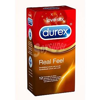 DUREX Preservativos Real Feel Ultra Sensitive  caja 12 unidades