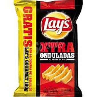 Lay's Patatas xtra onduladas con sal + regalo 110gr