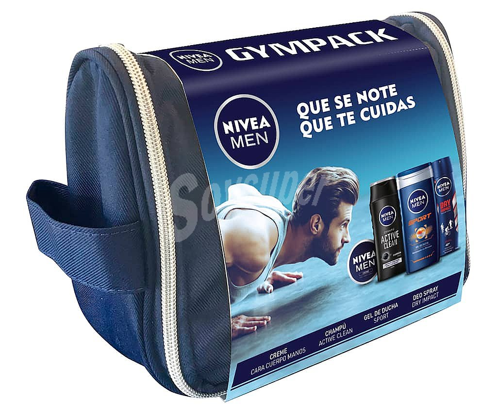 2a529c441 Nivea For Men Estuche regalo para la higiene y el cuidado corporal Men.