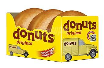 Donuts Donuts glaseado original 3 unidades (156 g)