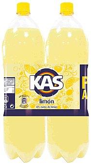 Kas Refresco de limón con gas Pack 2 botella 2 l