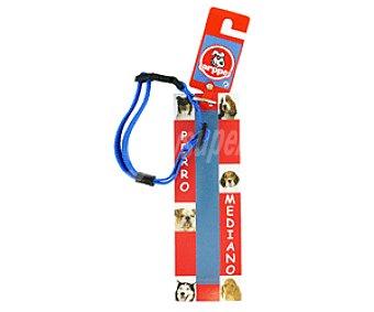 Arppe Collar de Nylon Regulable para Perro Mediano 1u