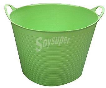 Altuna Cubo flexible multiuso de plástico virgen de color pistacho, con capacidad de y para uso alimentario altuna 38 litros
