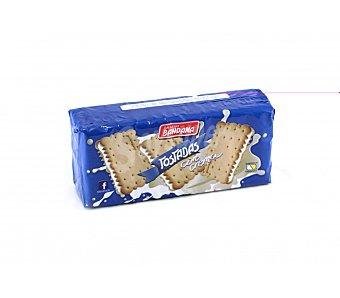 BANDAMA galletas tostadas rellenas de crema paquete 200 g